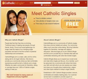 Catholic online dating site
