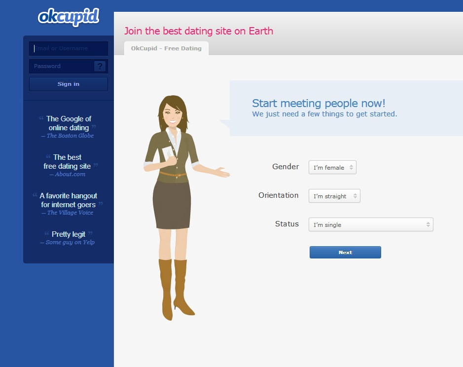 Is okcupid.com a safe dating site?