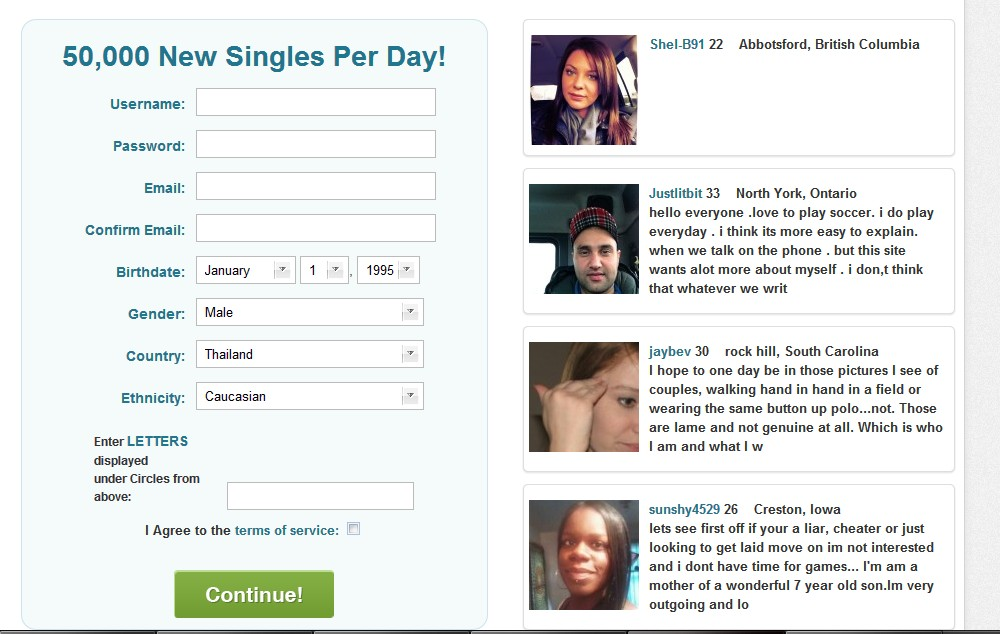 Pof dating site underage scam