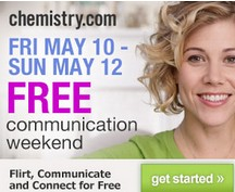 Chemistry dating site Free Communication Weekend