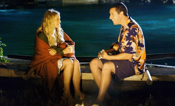 50 first dates is probably not the best example, but at least they did not spend the date taking phone calls!