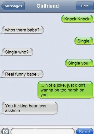 Breakup text messages; the good, the bad, and the ugly!