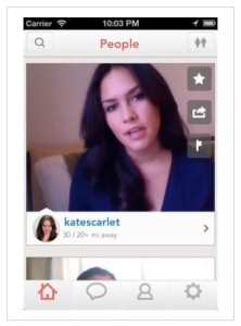 at first sight dating app is like the Bachelorette, not many people  are interested!