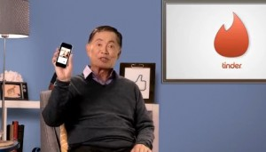 Sulu knows Tinder!