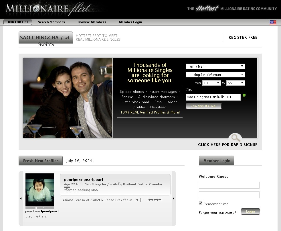 Does millionaireflirt.com have REAL millionaires and if so how many? Learn more here...