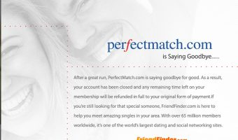 PerfectMatch Dating Site Ceases Operations