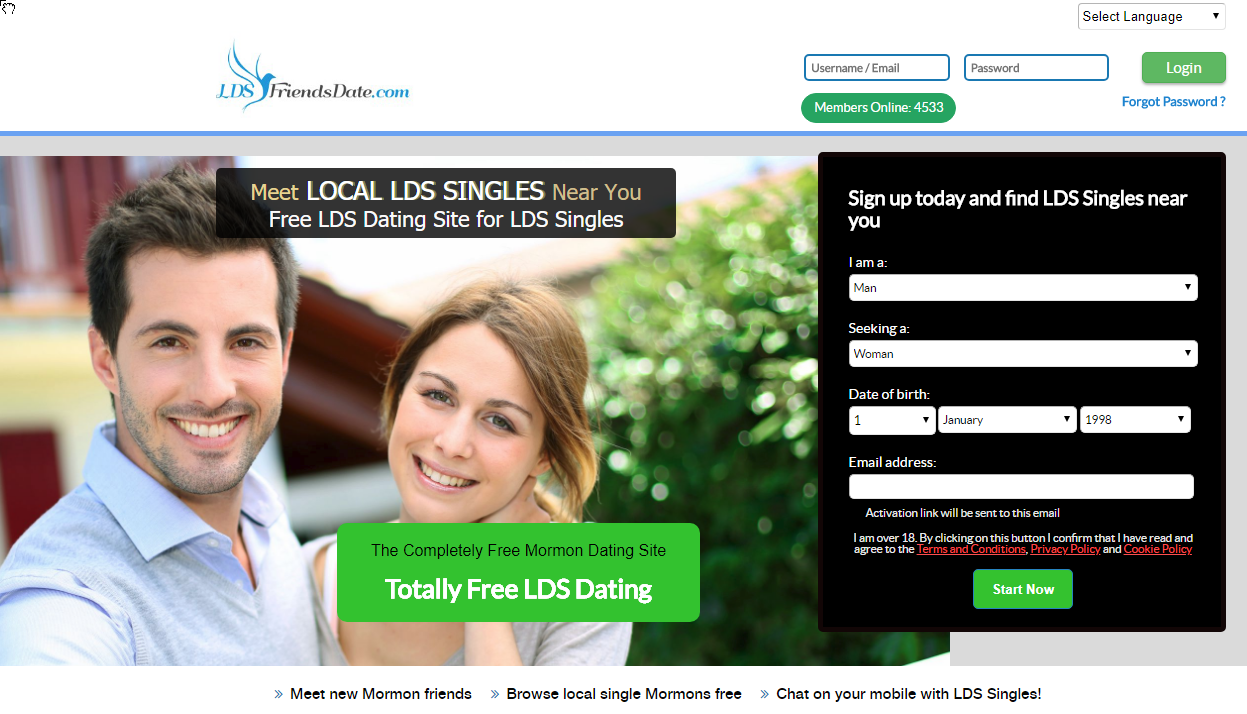 Lds internationale dating-sites