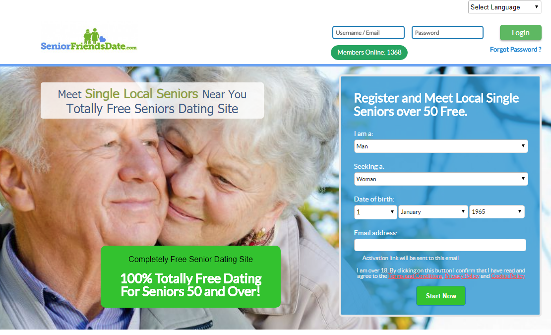What is the best free dating site for seniors